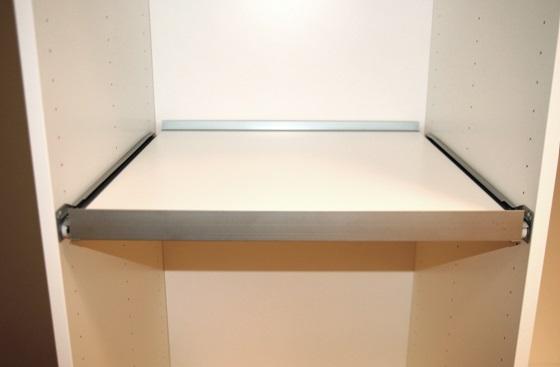 Garderoobi riiulisüsteemid